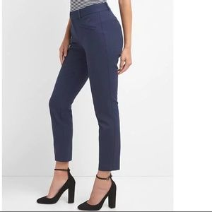 NWOT Gap Curvy Skinny Ankle Pants 10 Blue v668